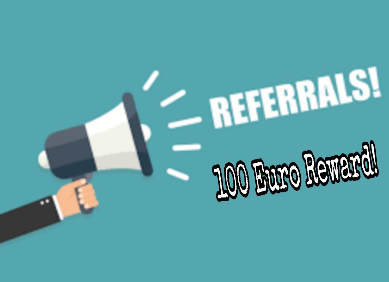 Puterea recomandărilor a scazut chiar dacă e 100 Euro Reward
